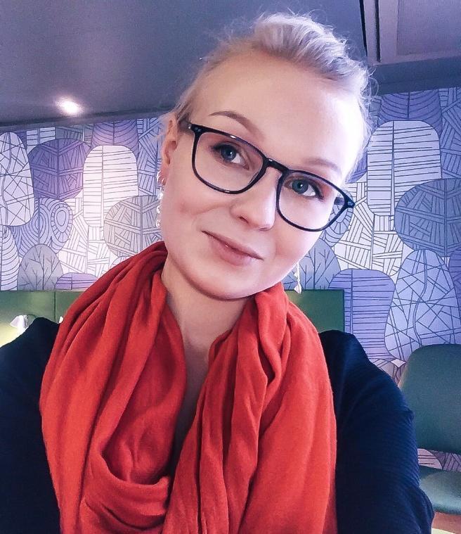 PhD student Lotta Landor