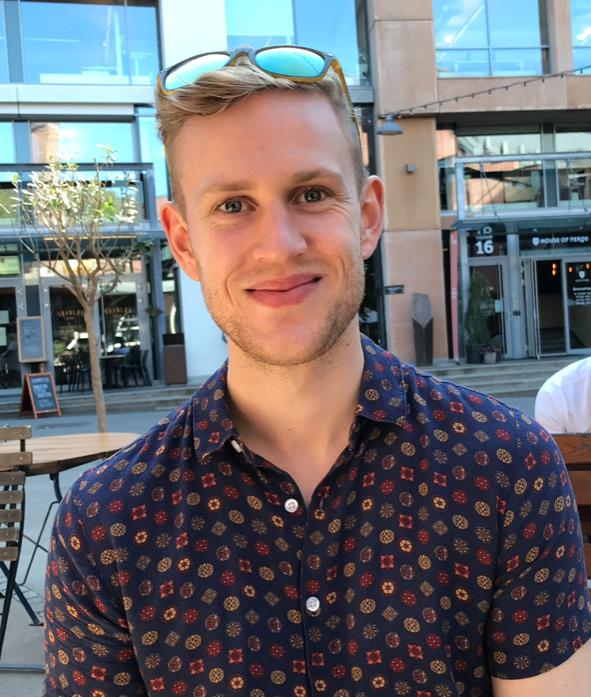Lukas Bjerkestrand, student Det psykologiske fakultet