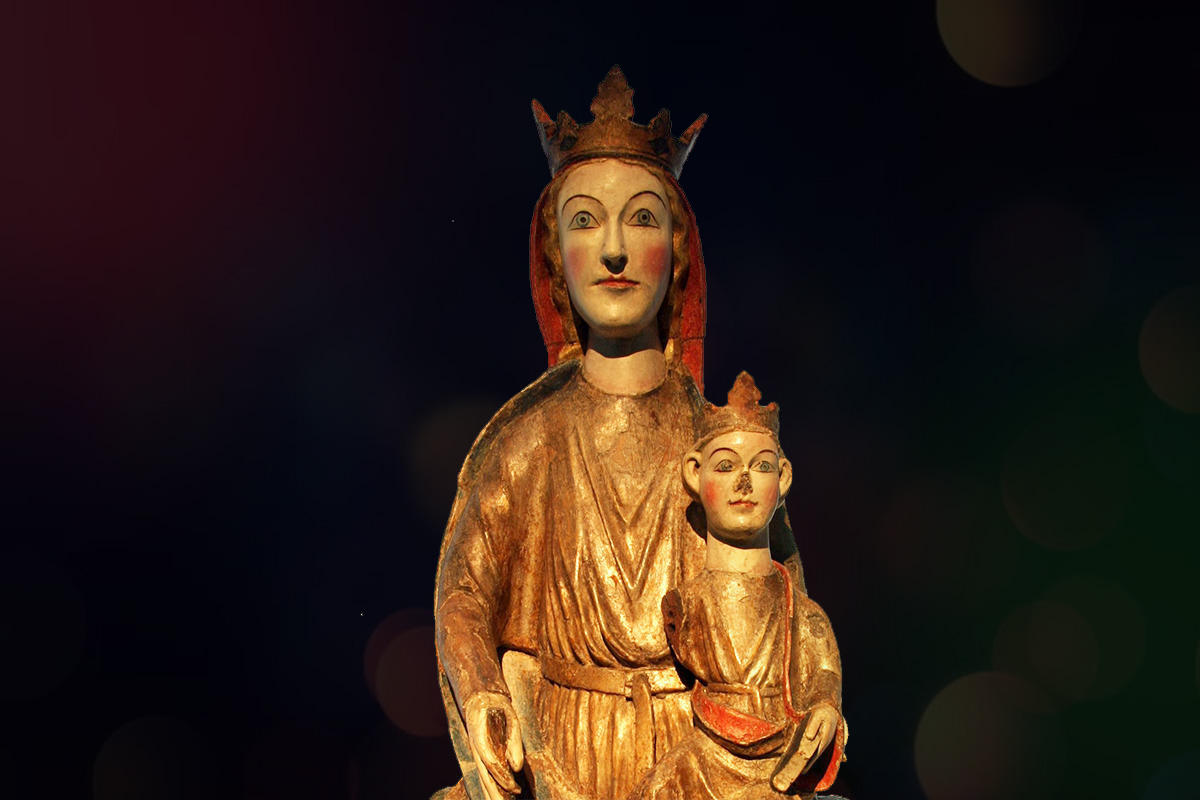 Madonna fra Kyrkjebø kyrkje