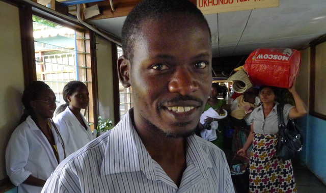 Doctor Gift Mulima is training to become a specialist general surgeon as part of the NORHED project in Malawi.
