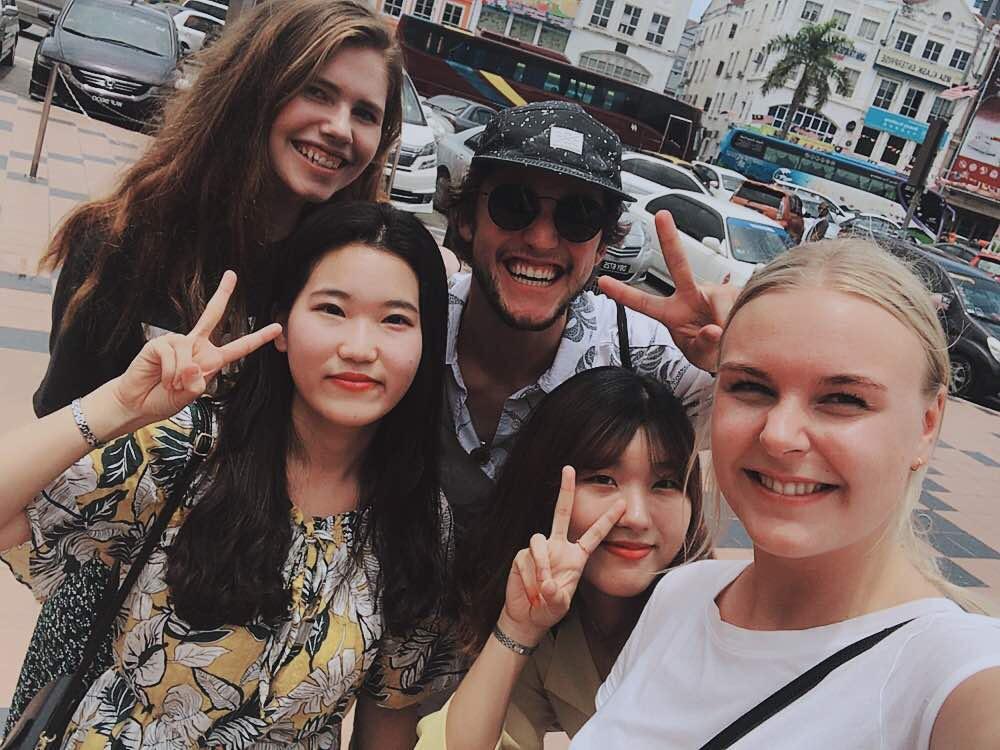 På utvekslingsopphald i Malaysia