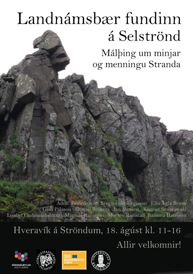 Conference poster, Strandir-project on Iceland