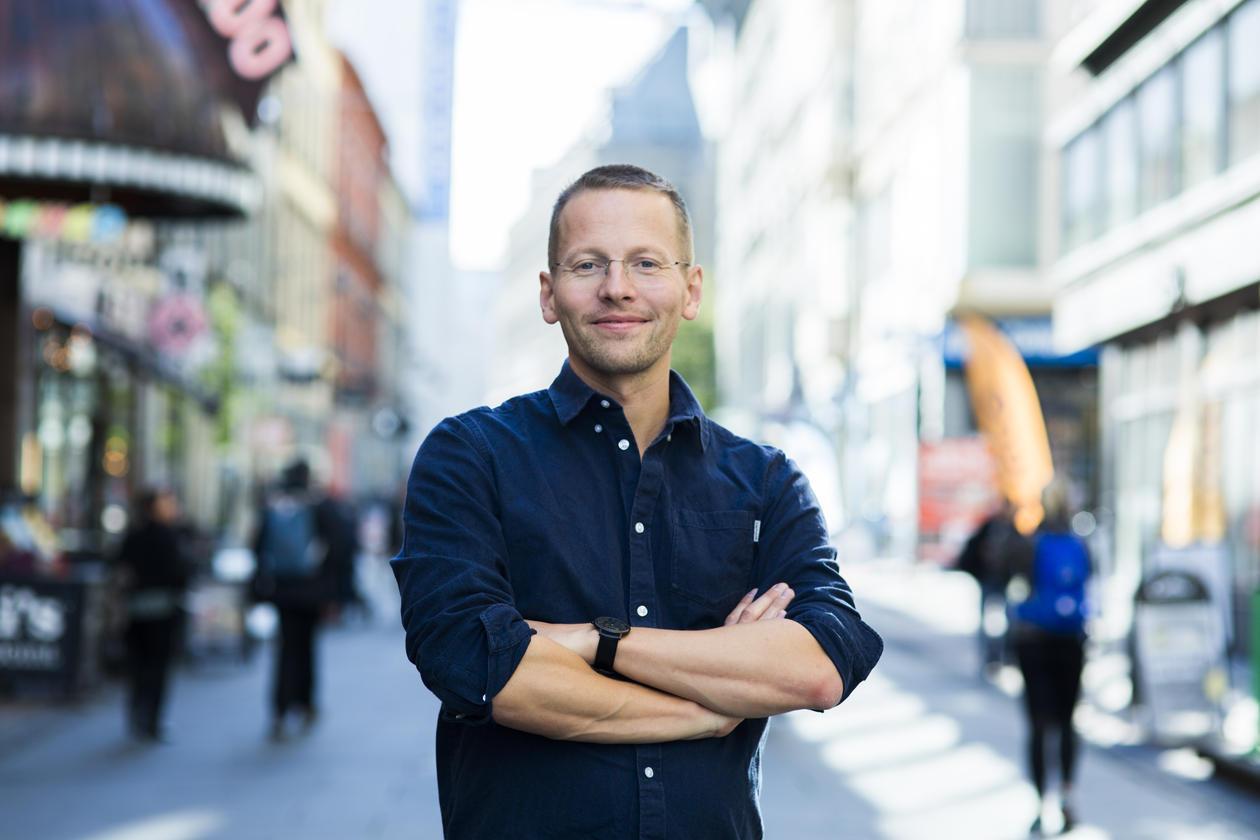 Portrett av Trygve Svensson