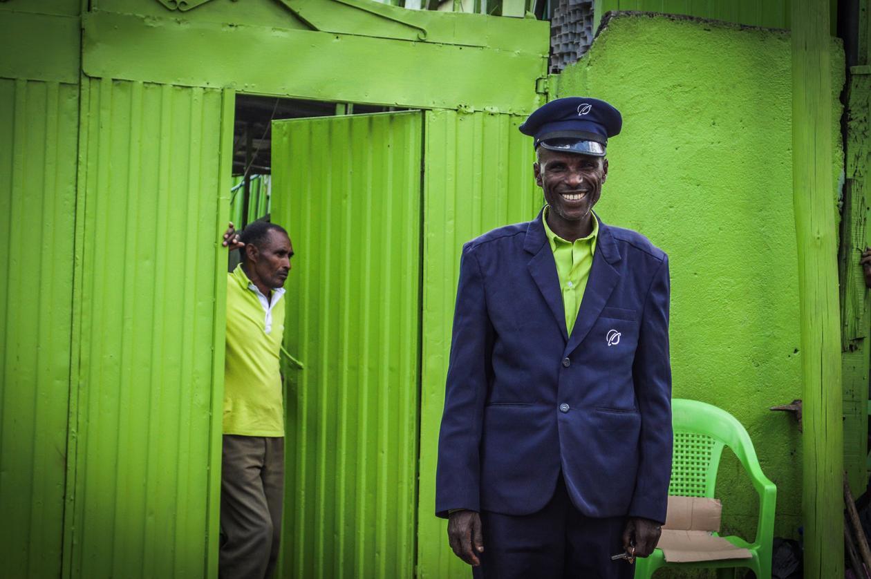 man smiling, Ethiopia