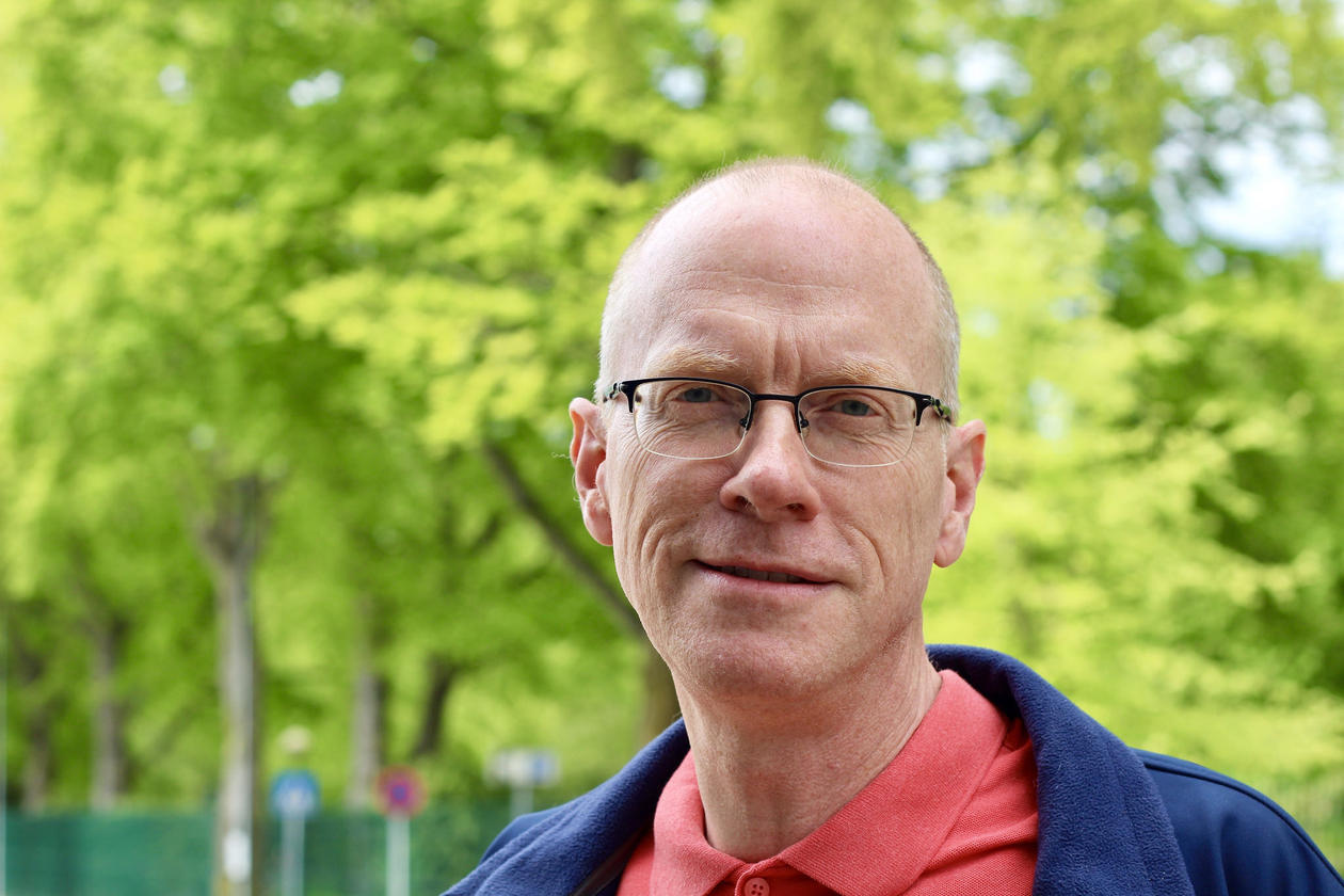 Professor of informatics Fredrik Manne