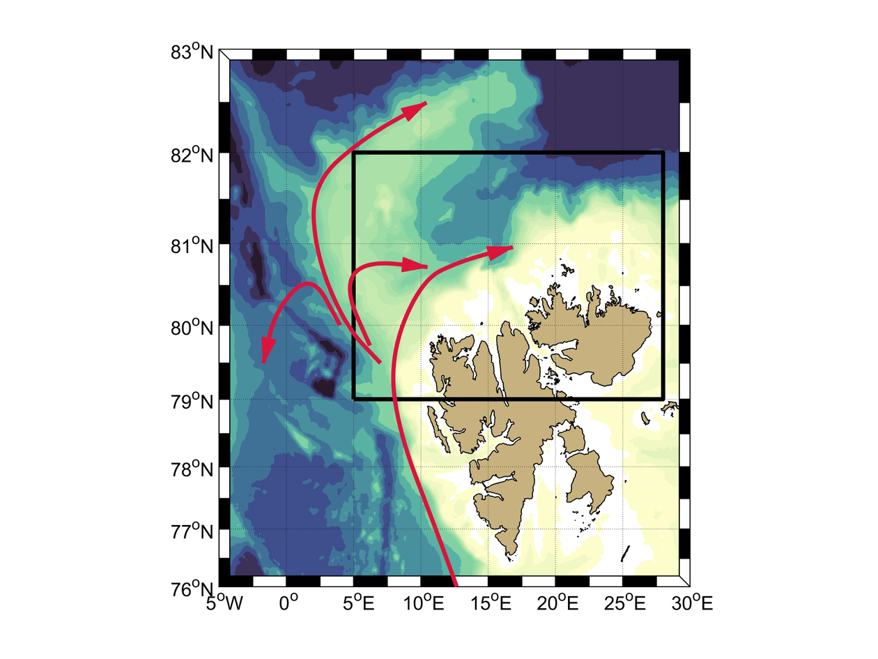 Map_Svalbard_circulation_Ilker_Fer
