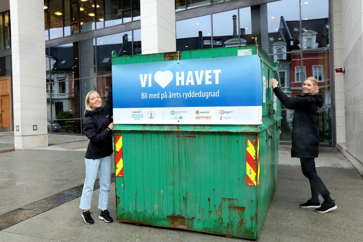 Mari Froastad og Helene Wiken