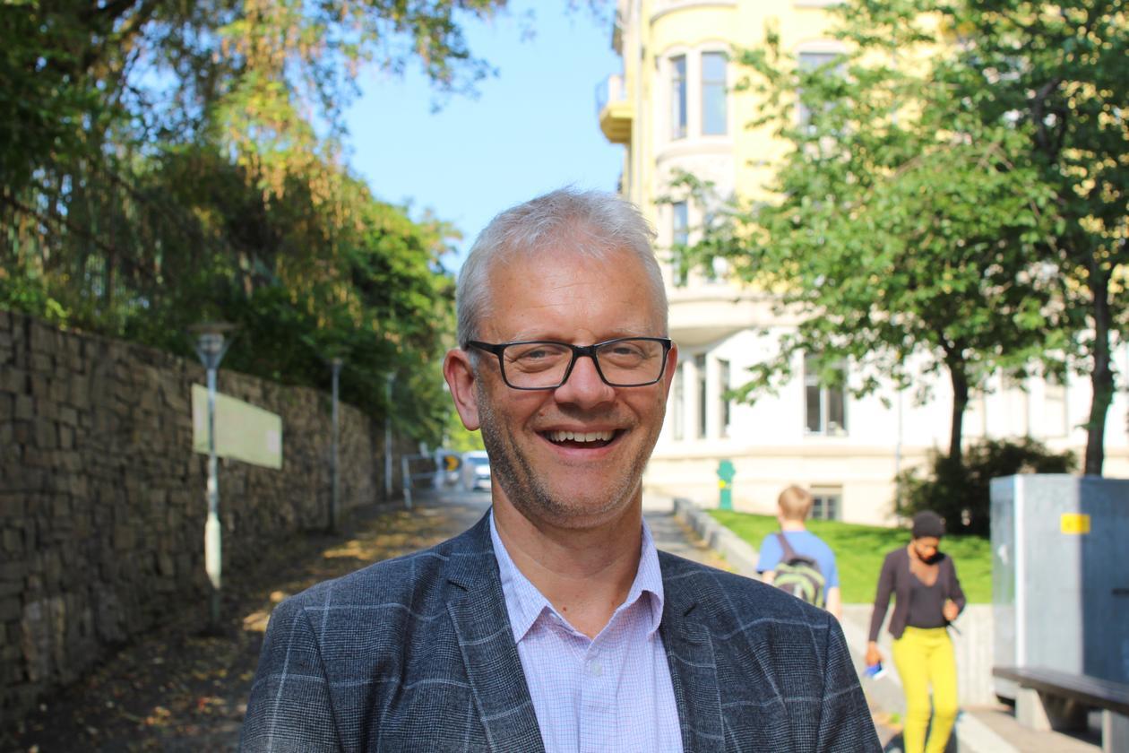 Nils Gunnar Kvamstø, marin dekan UiB