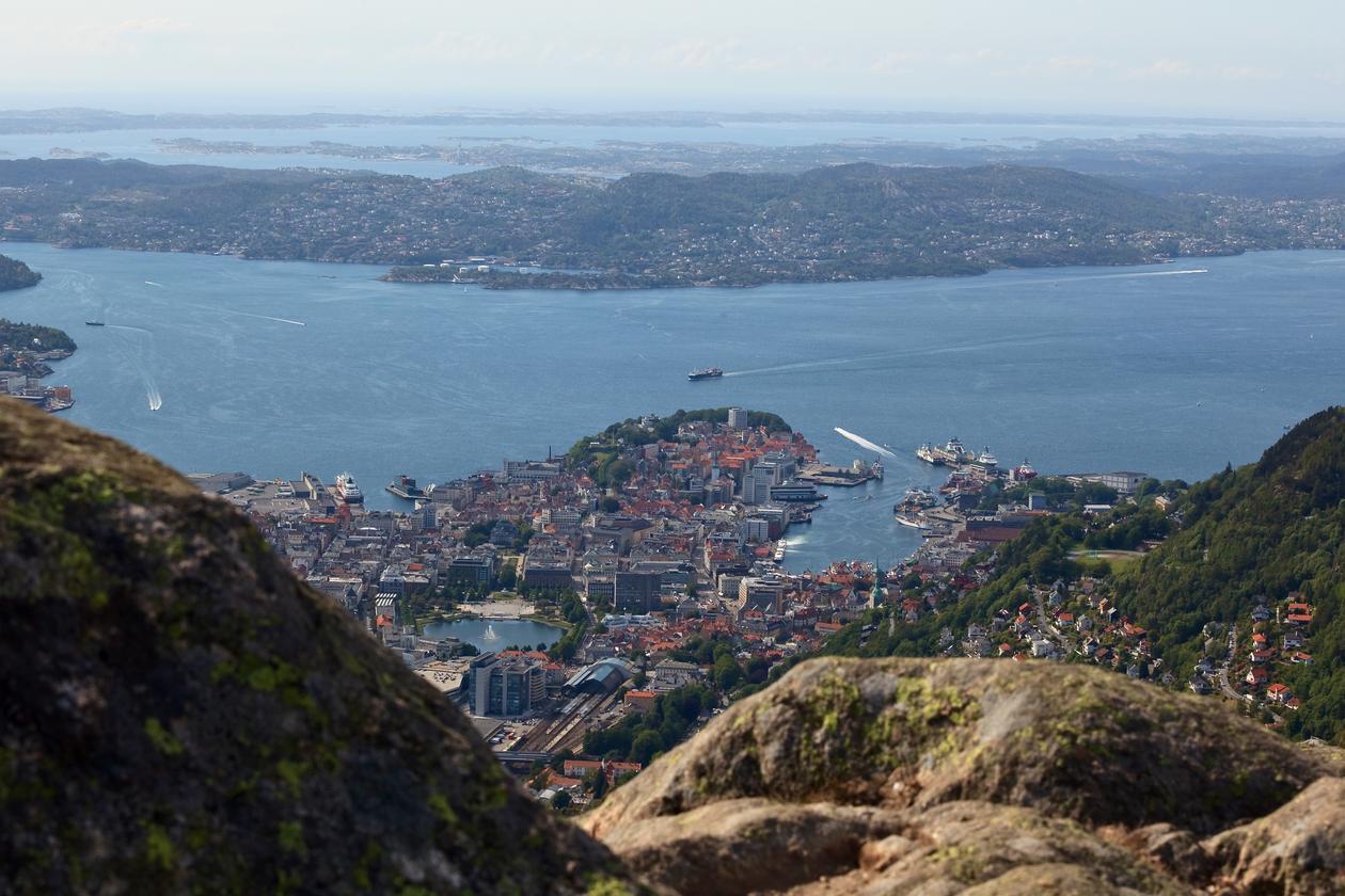 Oversikt over Bergen