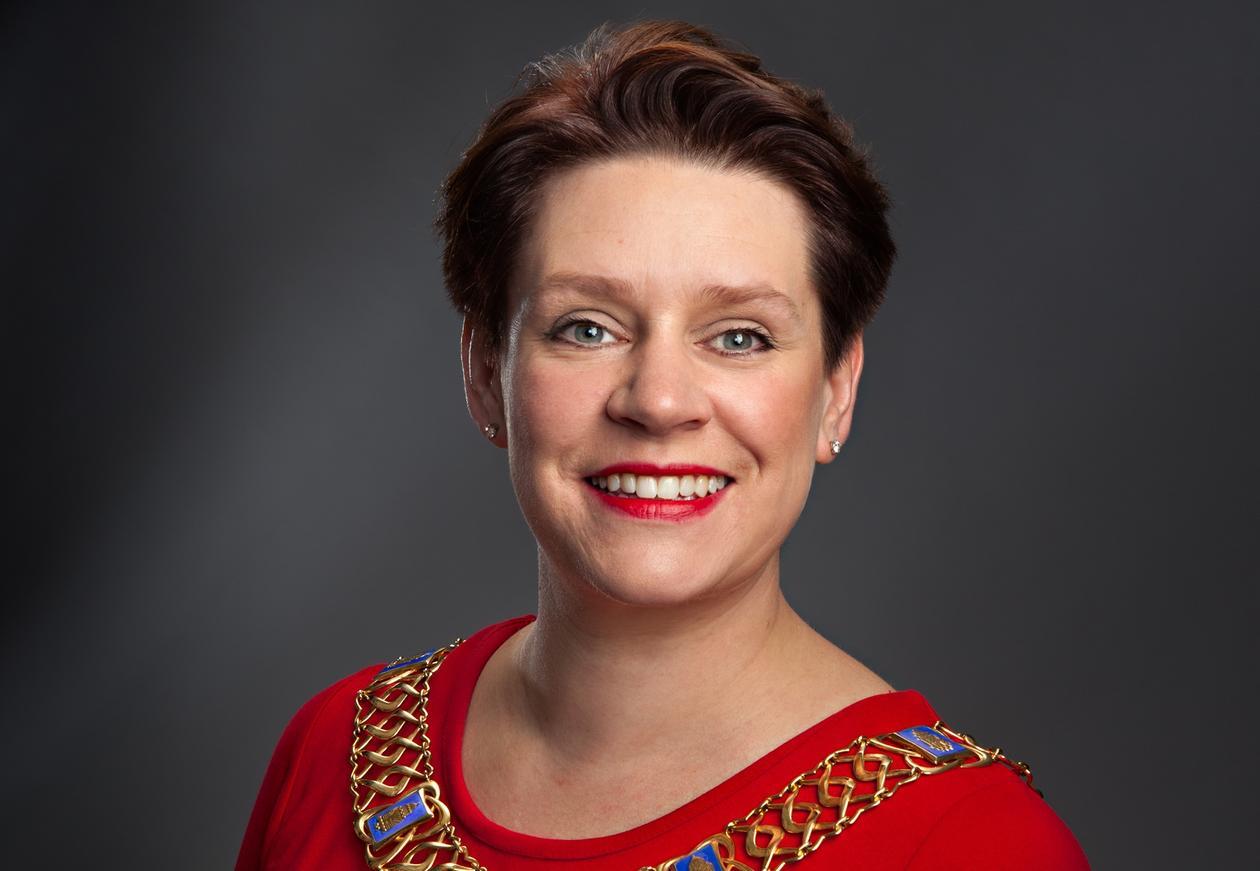 Marte Mjøs Persen fra Arbeiderpartiet er Bergens nye ordfører