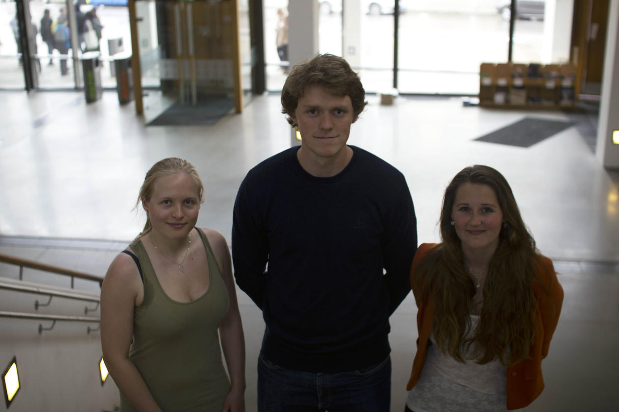 Første masterstudenter i fornybar energi