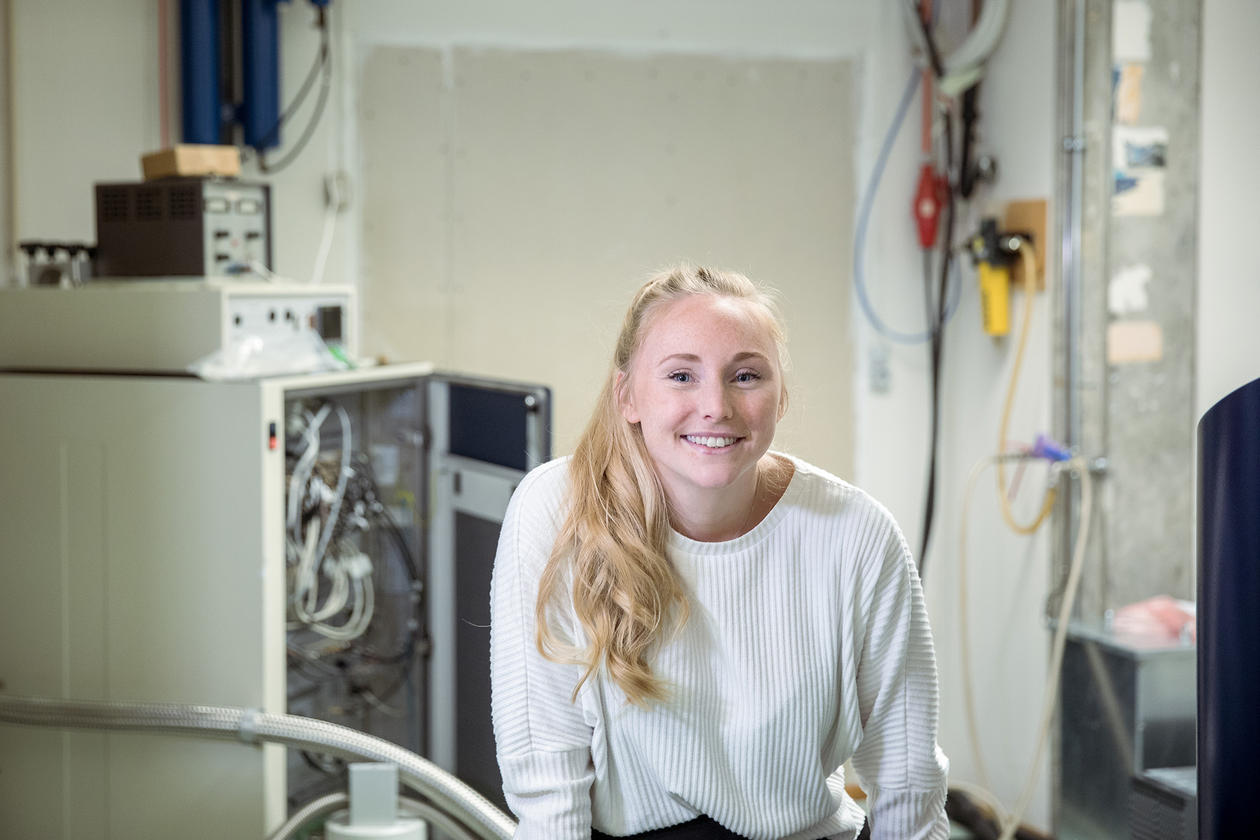 Merethe Birkeland, student i kjemi