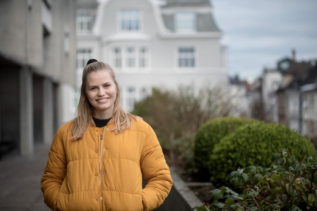 Hege Frøysa forteller hvordan det er å studere matematikk for industri og teknologi