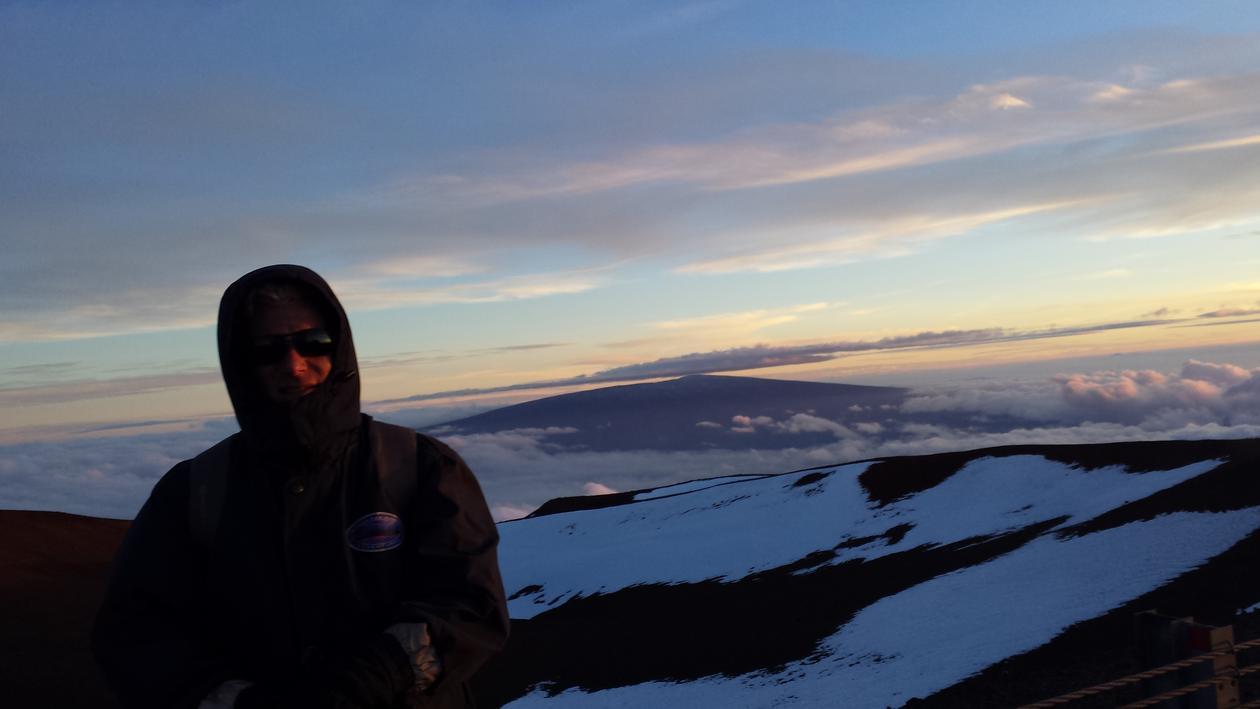 bild fra ekskursjon, fjell på Hawaii