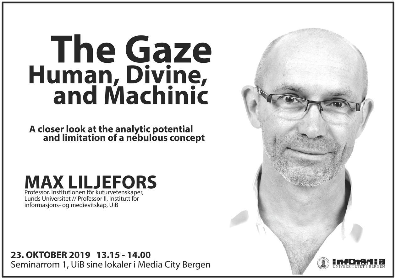 Max Liljefors holder foredrag 23.oktober