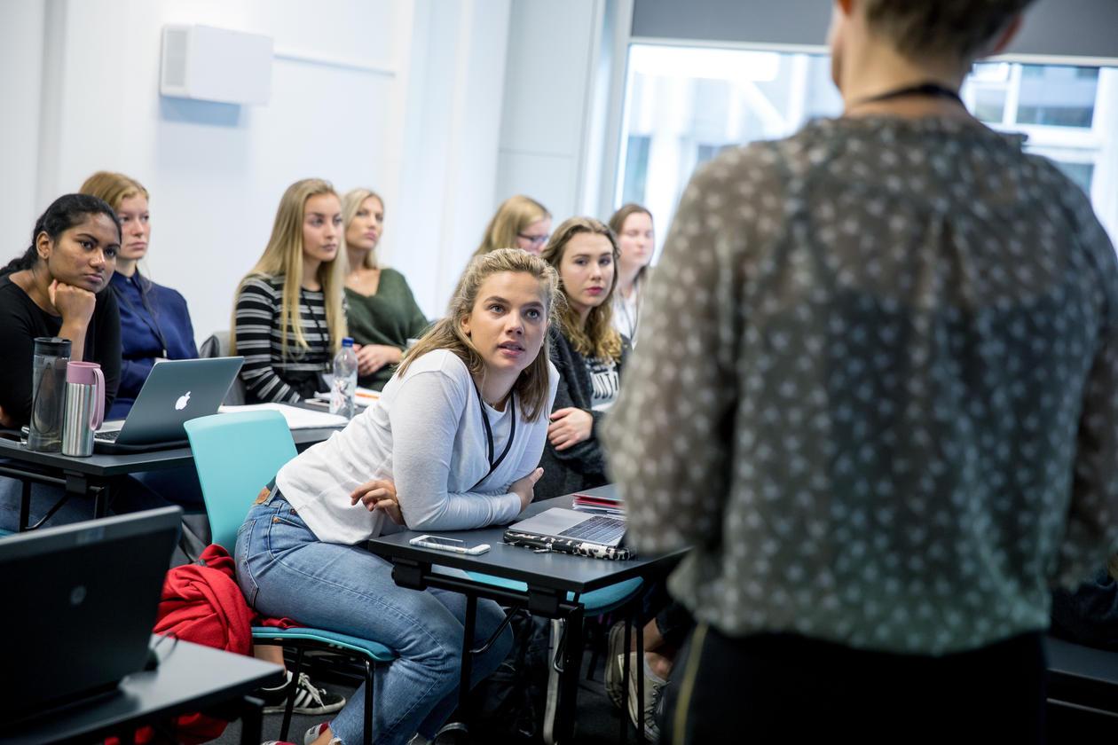 Studenter ved UiB