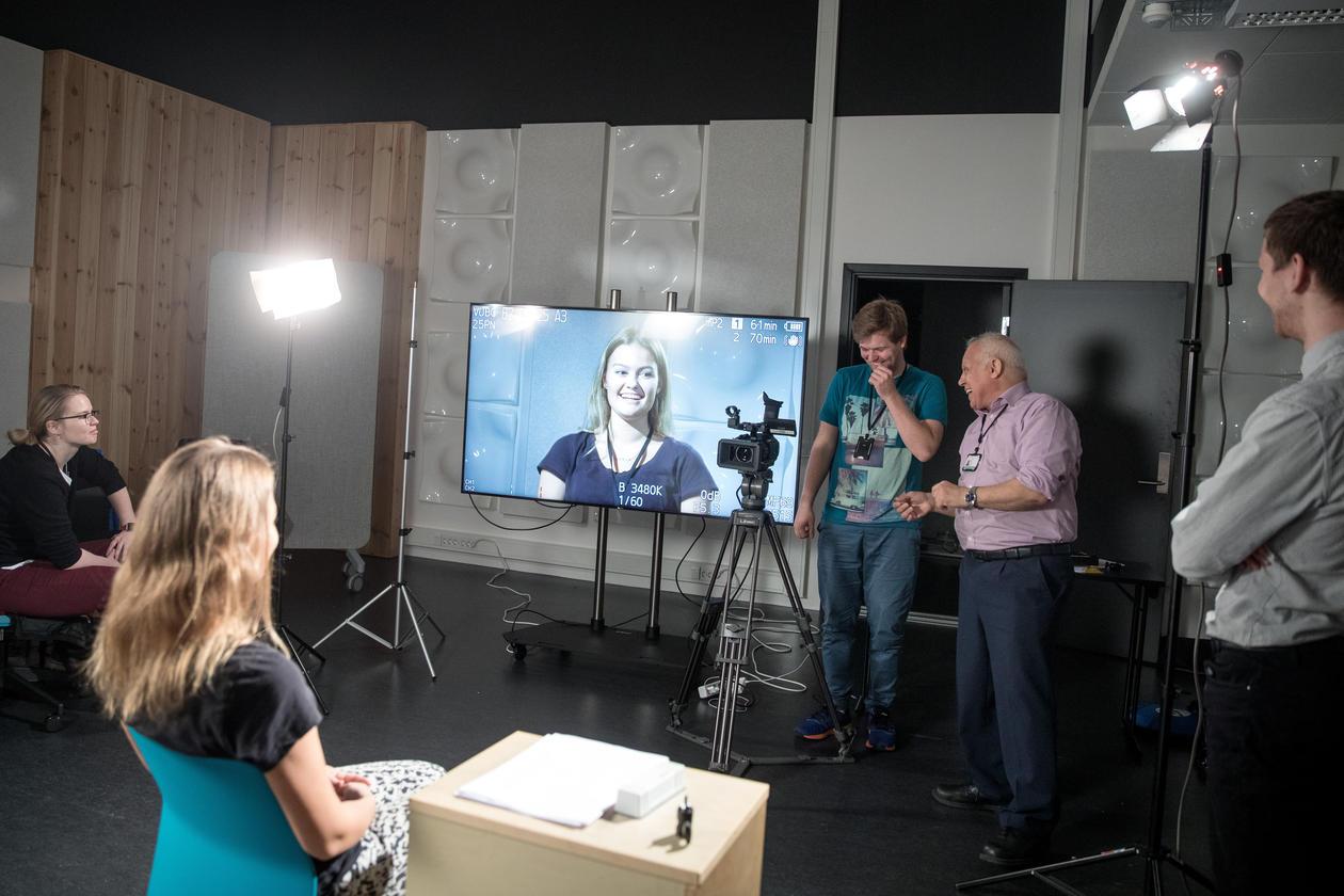 Lyskurs TV-produksjon MCB