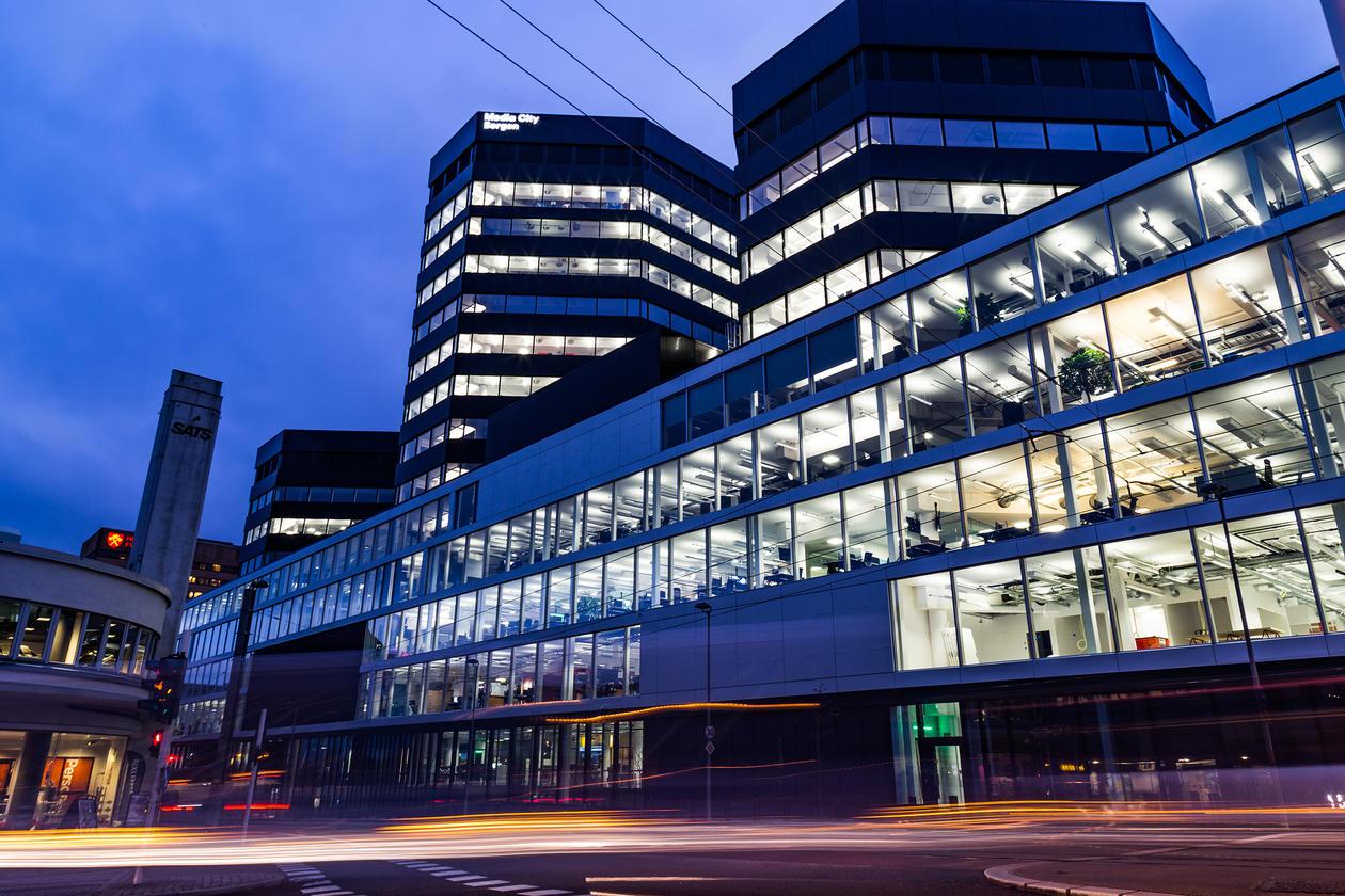 Media City Bergen.
