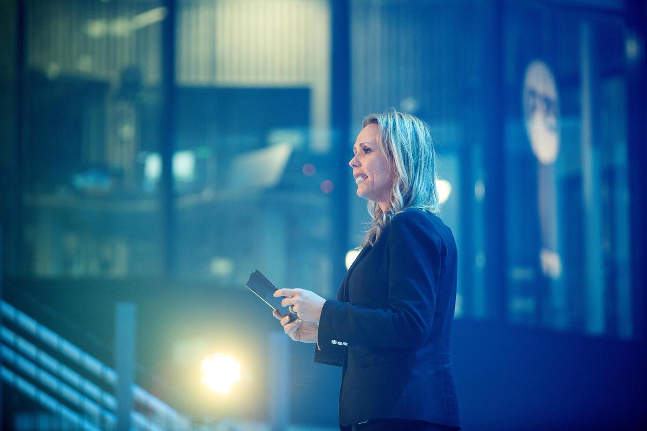 Kulturminister Linda Hofstad Helleland.