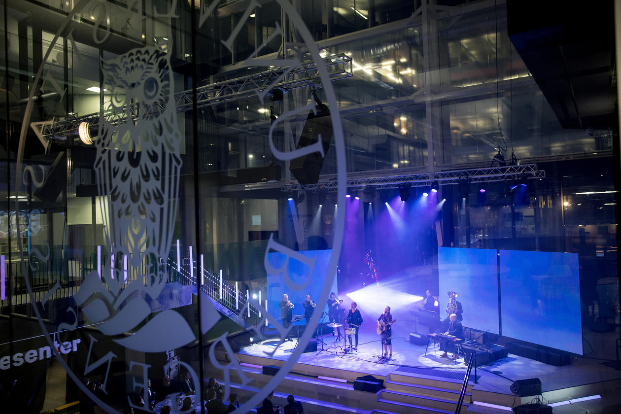 Offisiell åpningsfest Media City Bergen.