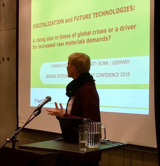 Presentation at Bergen International Student Conference