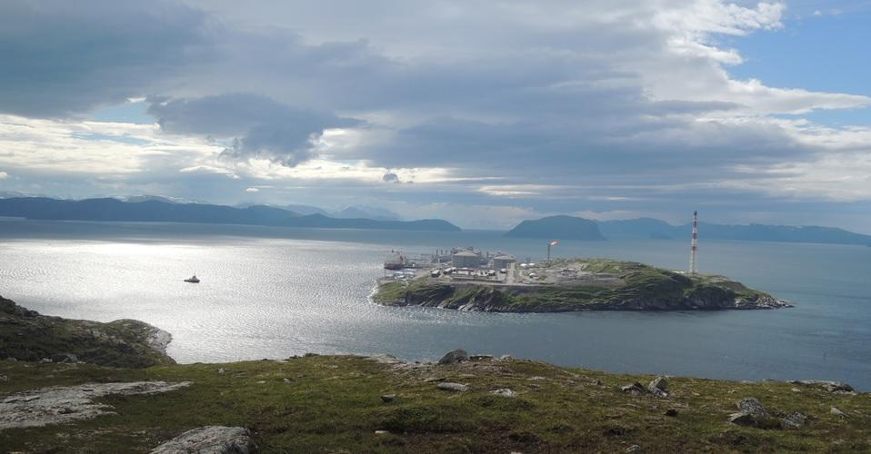 Melkøya, Snøhvit. Statoil