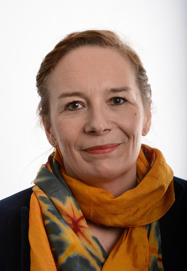 Portrett av Sonja Mellingen