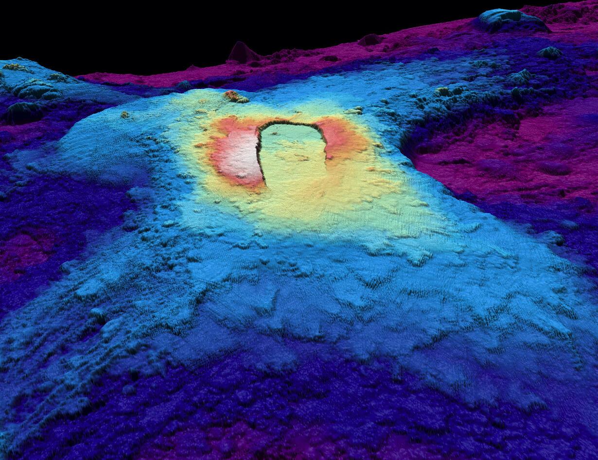 Deep sea bathymetry