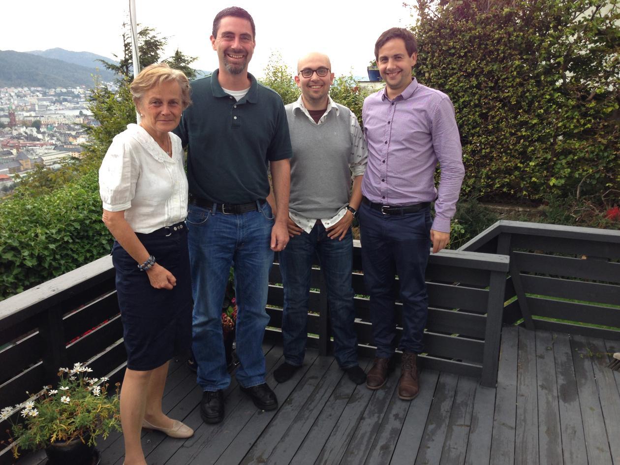 Assistant Professor Michael Jones together with LINGCLIM members
