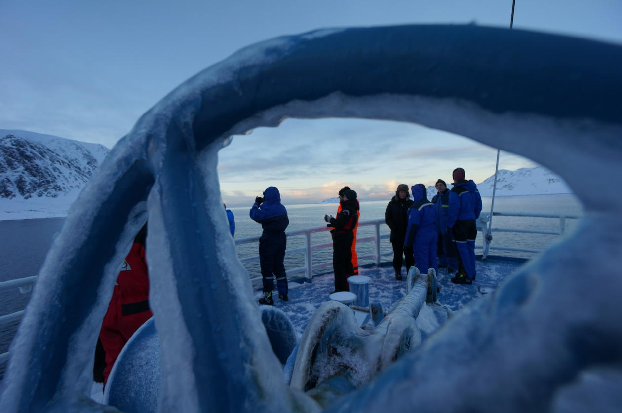 Mikrobiologisk tokt i arktis