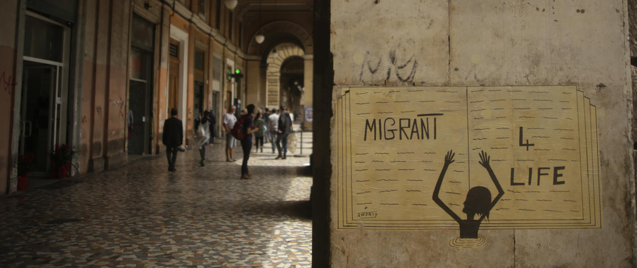 Grafitti - Migrant for life