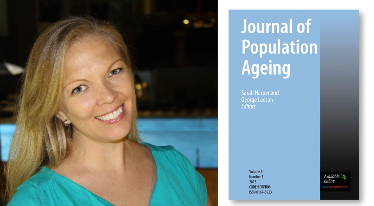 Miia Bask med ny Publikasjon i Journal of Population Ageing