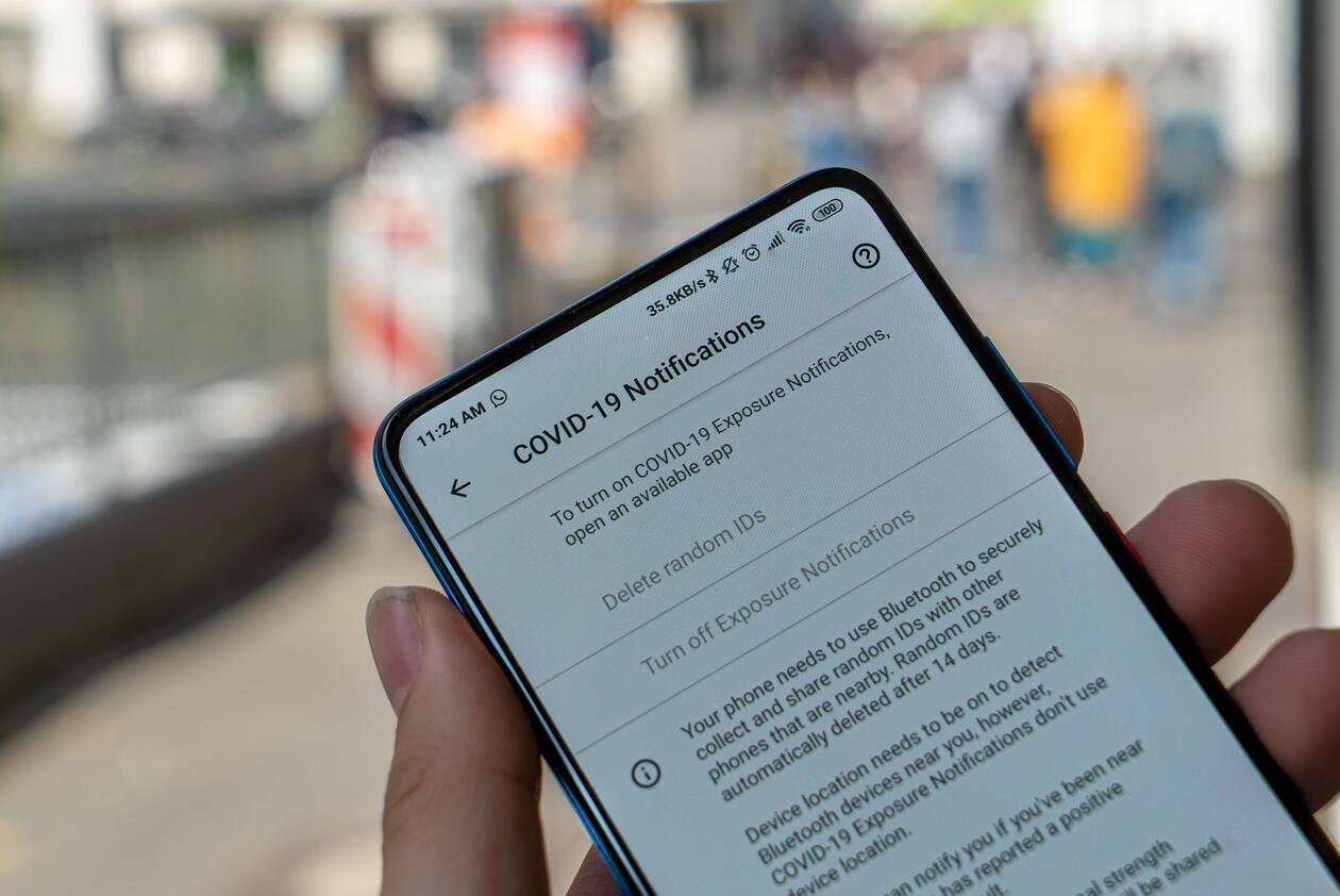 personvern mobil korona