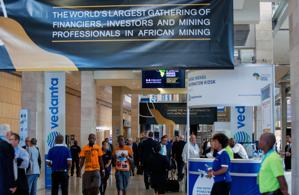 Mining conference in Cape Town