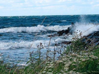 Havet og været
