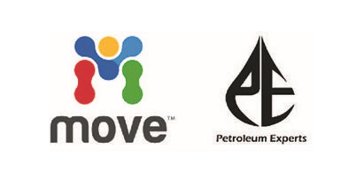MOVE and Petex logos