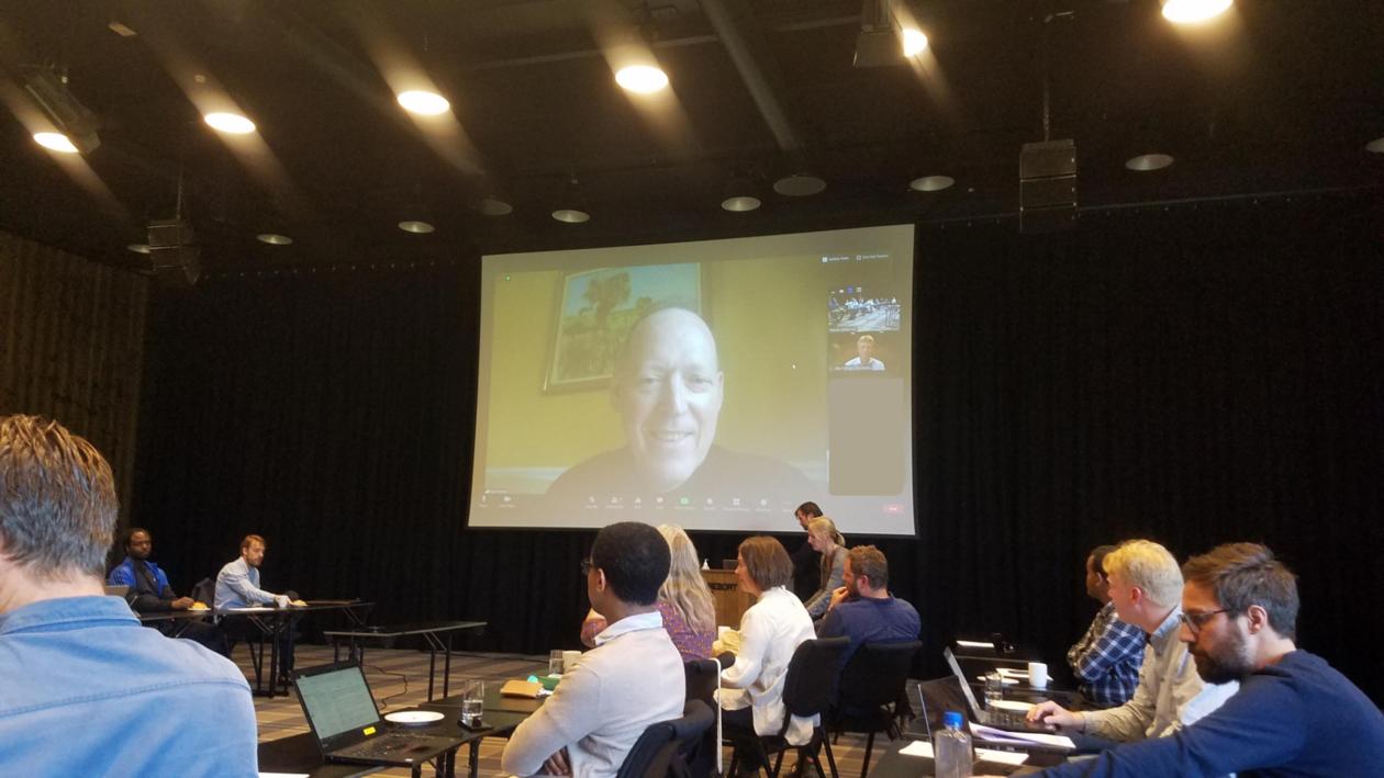 Paul Farmer on Zoom