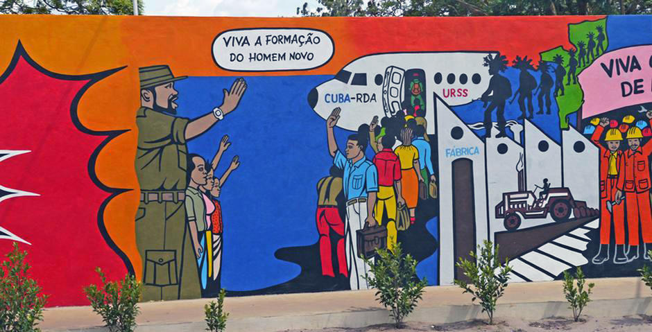 Mural in Mozambique