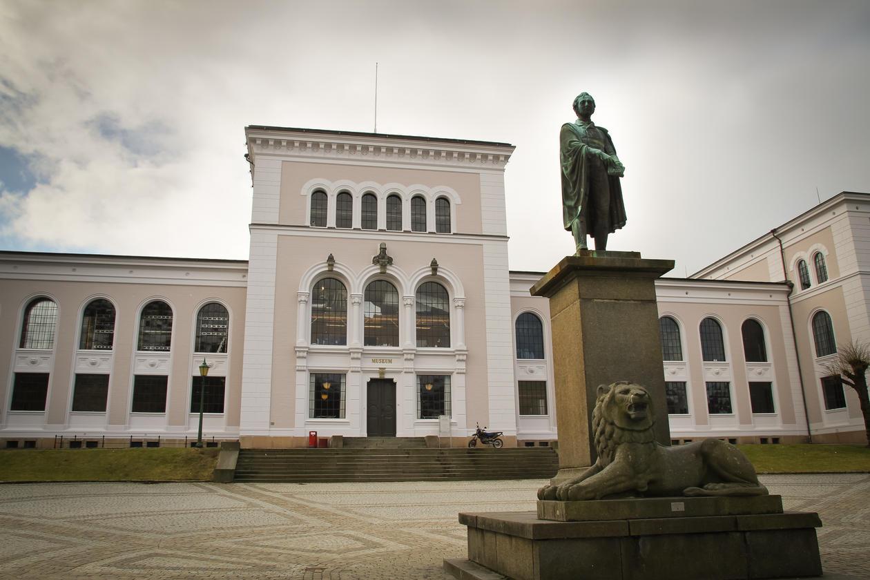 The museum facade
