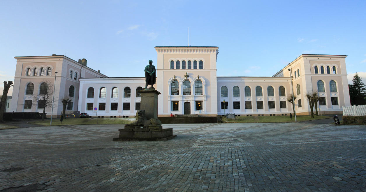 Museumsbygget ved UiB
