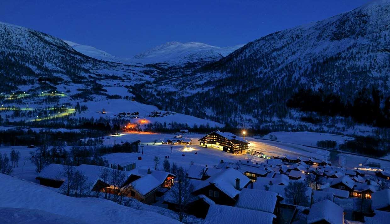 Myrkdalen in the dark