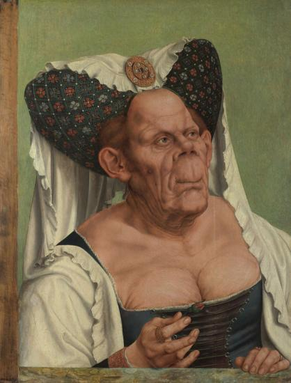 An Old Woman ('The Ugly Duchess')