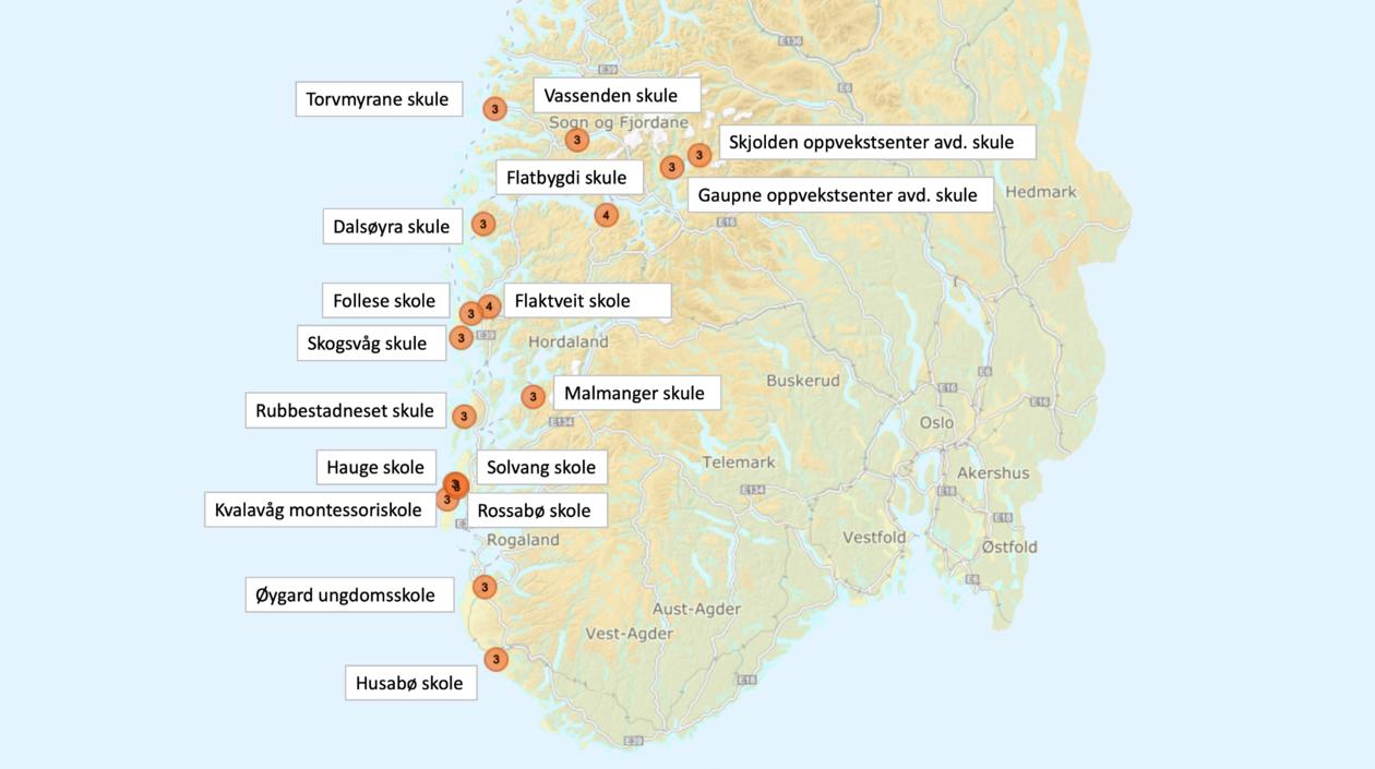 Natursekkskkular på Vestlandet 2019/2020
