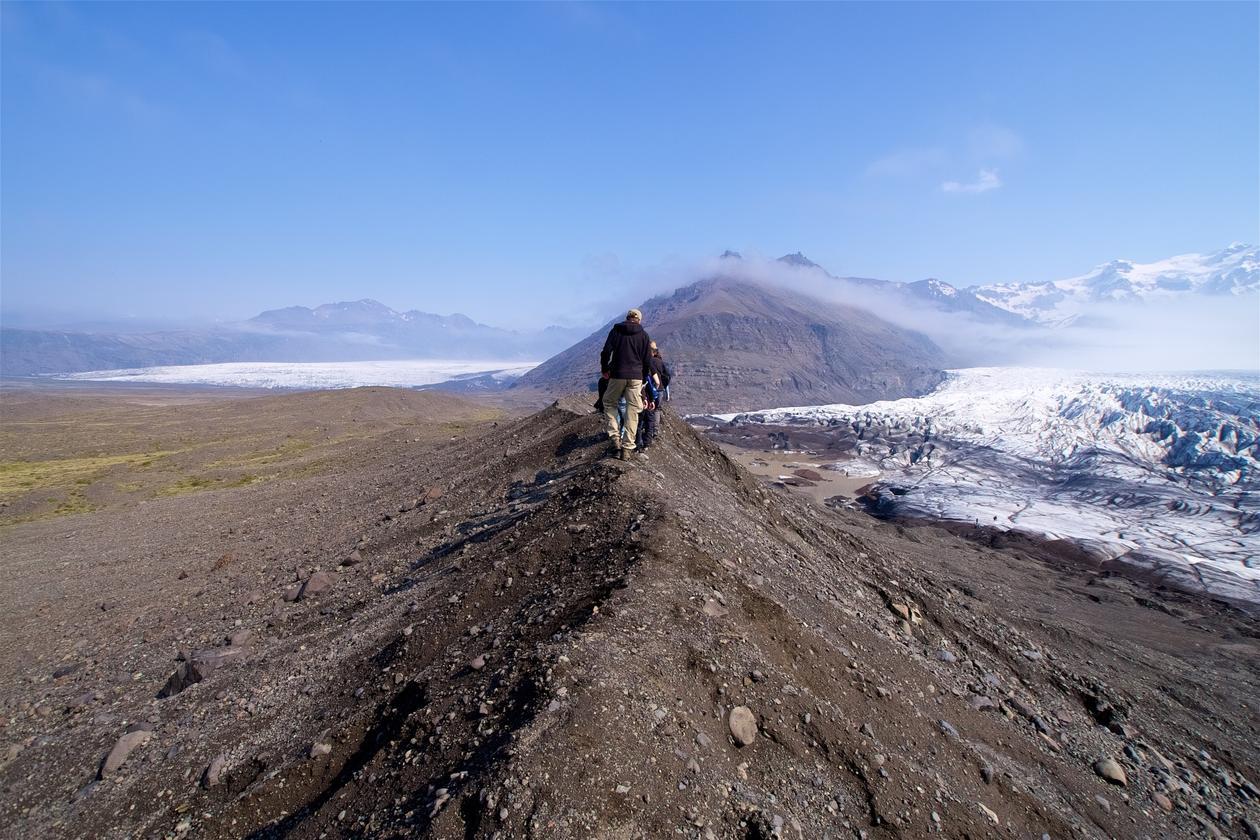 Bre og morene Island