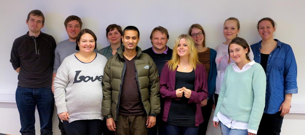 Nye masterstudenter på digital kultur høsten 2013