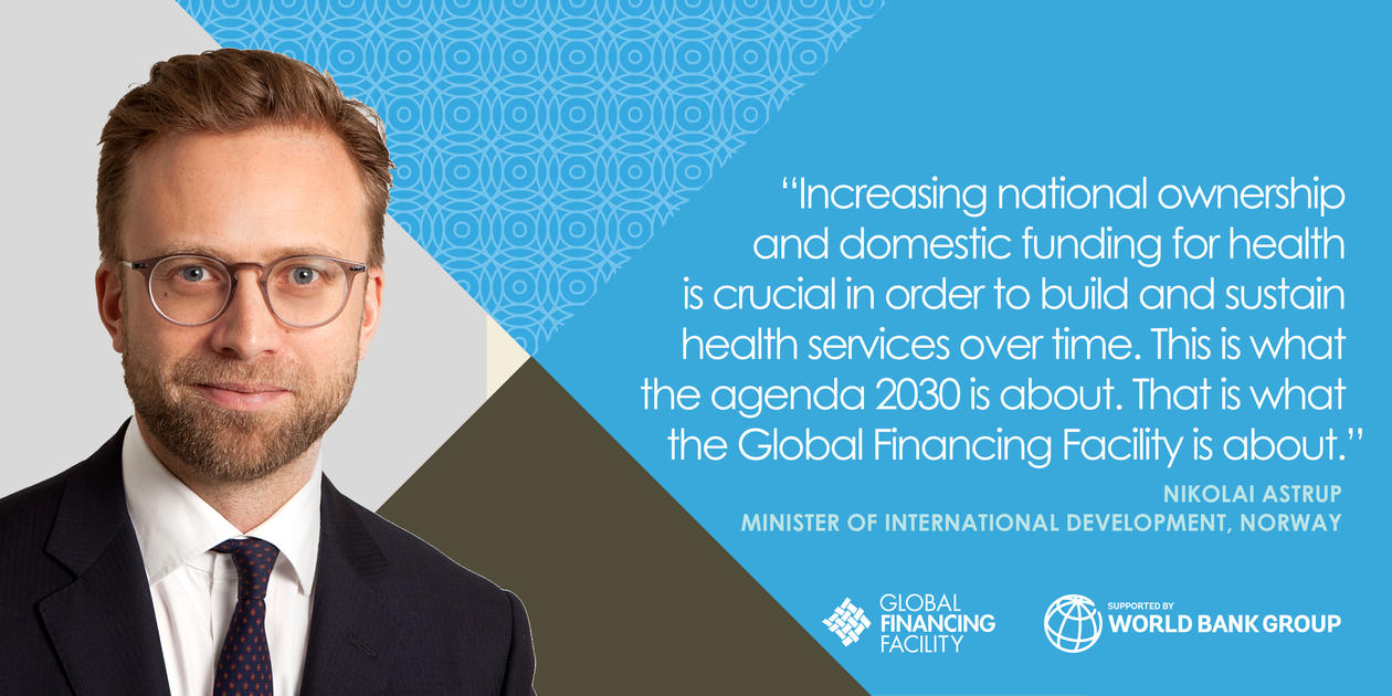Quote by Minister of International Development, Norway, Nikolai Astrup