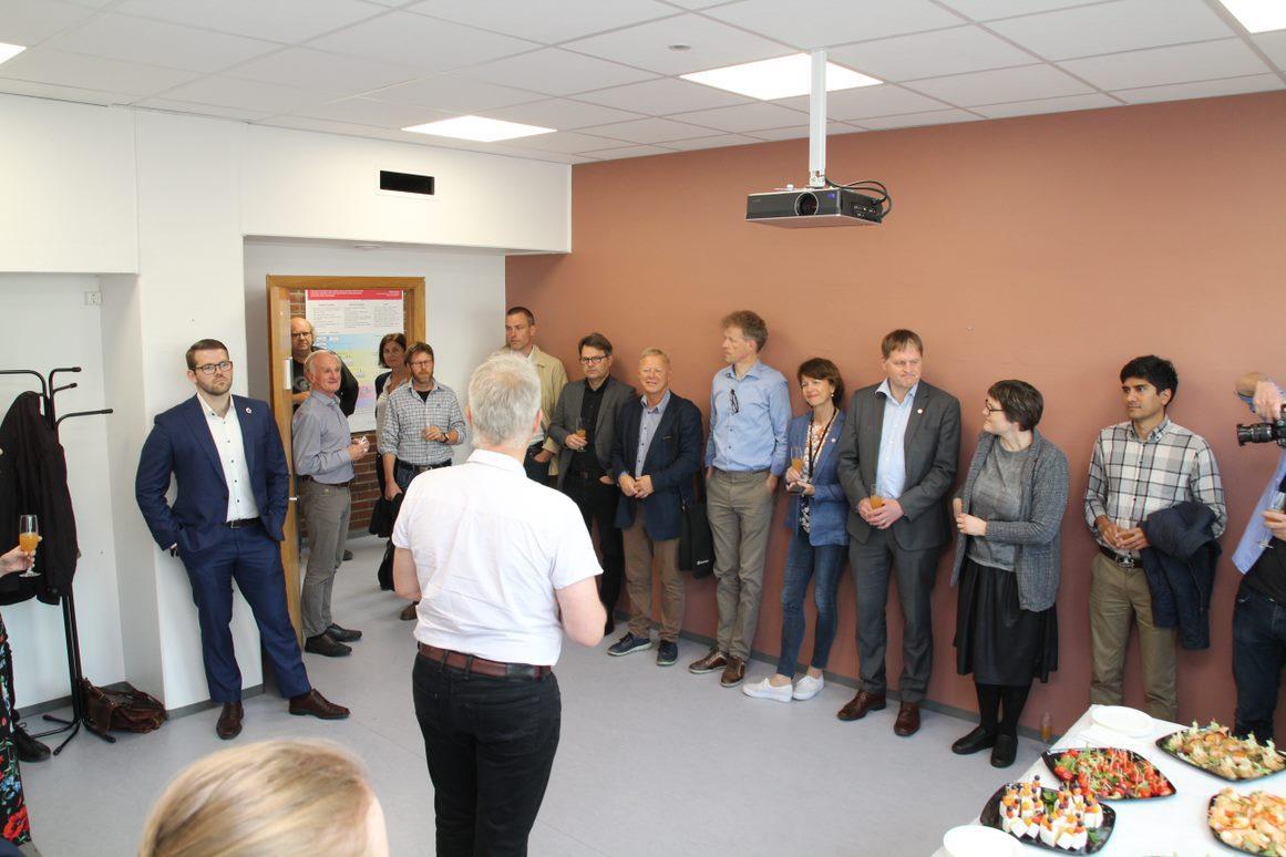 Instituttleder ved Geofysisk institutt Nils Gunnar Kvamstø ønsker velkommen