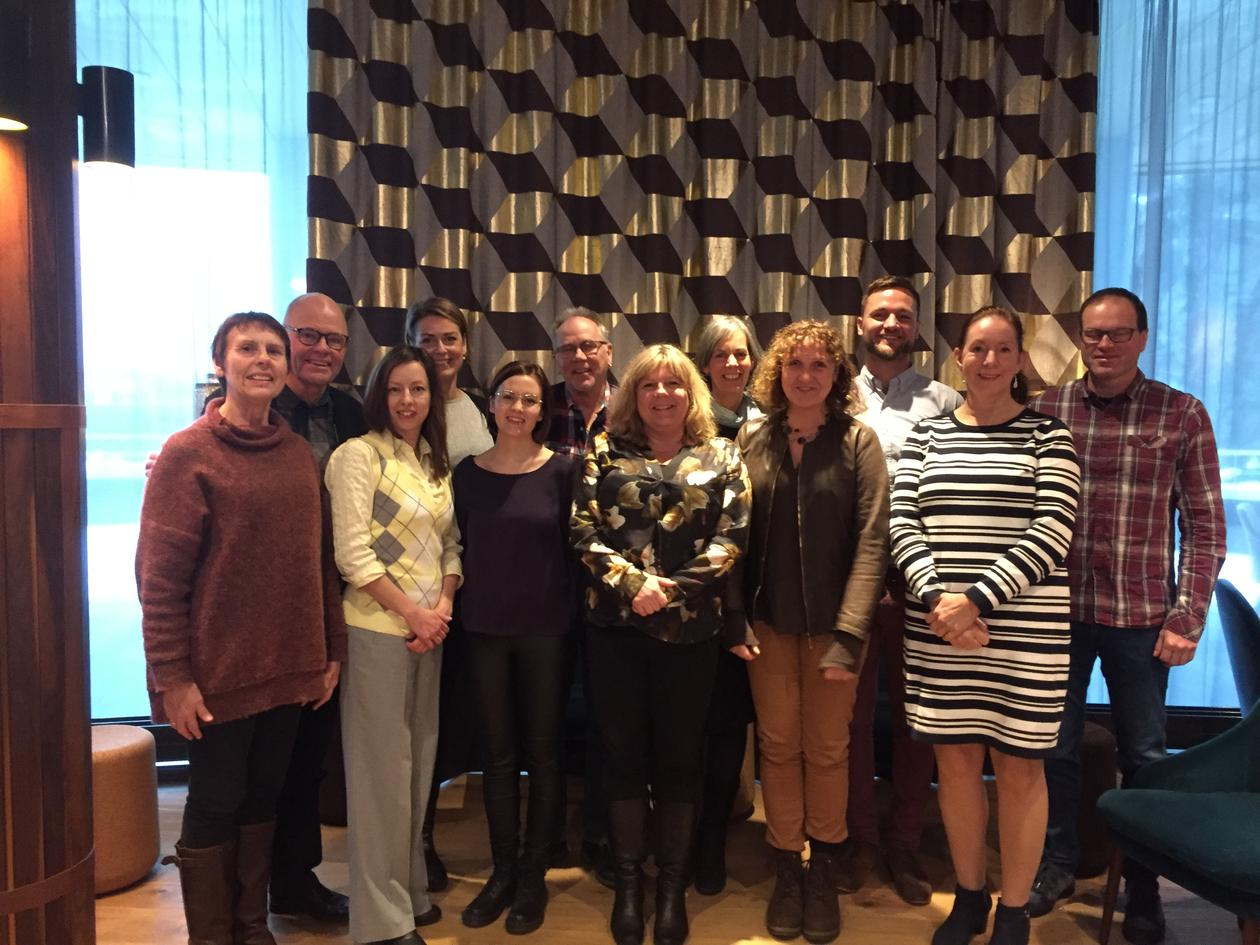 Group photo Nordic network in global health