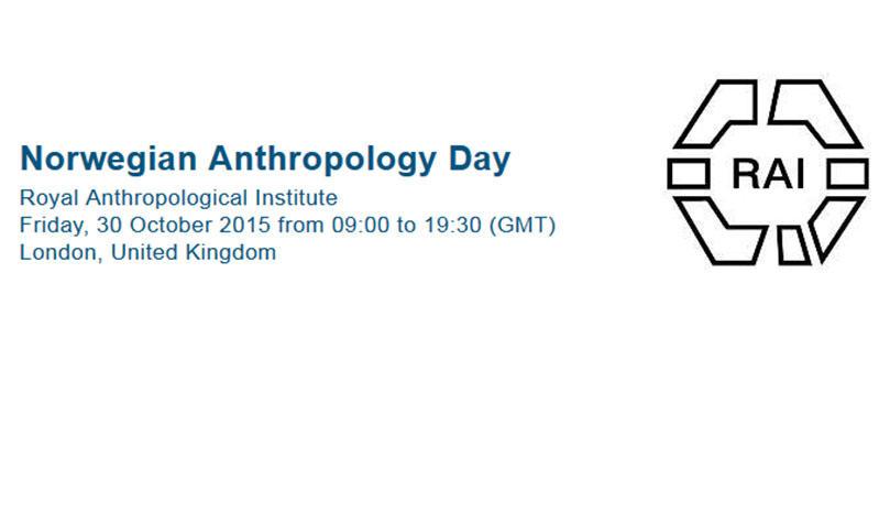 Norwegian Anthropology Day at RAI