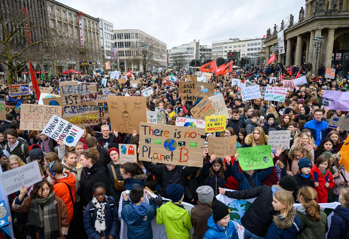 Klimademonstrasjon i Tyskland
